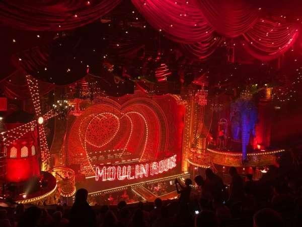 Al Hirschfeld Theatre, vak: Mezzanine L, rij: K, stoel: 21