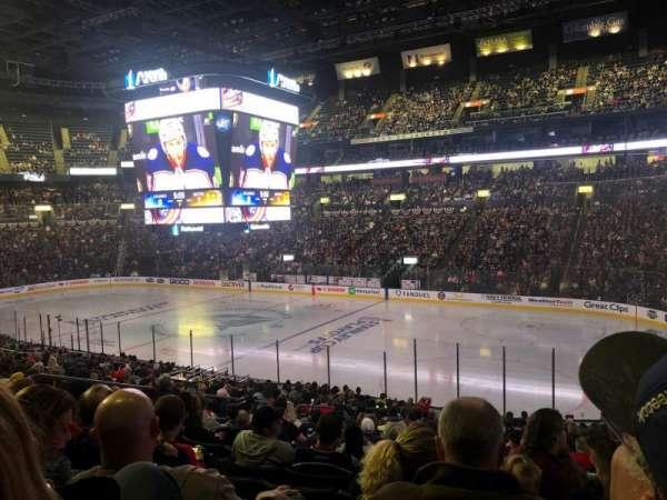 Nationwide Arena, vak: 112, rij: Y, stoel: 17