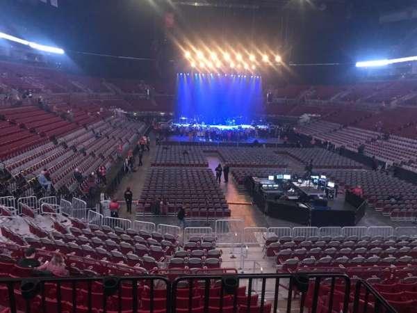 Value City Arena, vak: 232, rij: A, stoel: 1