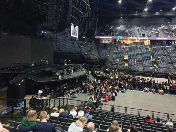 AccorHotels Arena, vak: N, rij: 14, stoel: 31