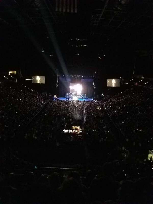Jacksonville Veterans Memorial Arena, vak: 312, rij: F, stoel: 5