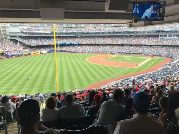 Yankee Stadium, vak: 232A, rij: 23, stoel: 17