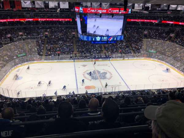 Scotiabank Arena, vak: 310, rij: 15, stoel: 4