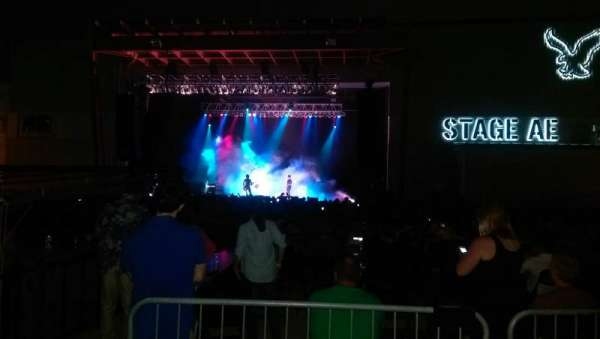 Stage AE, vak: GA, rij: Lawn