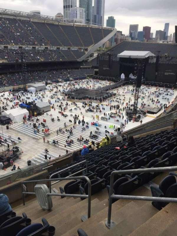 Soldier Field, vak: 316, rij: 14, stoel: 17