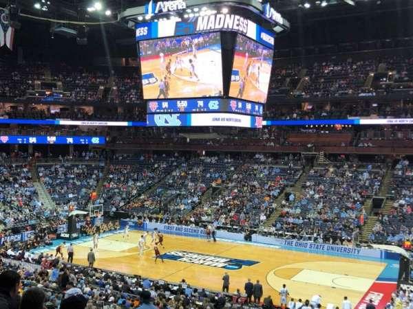 Nationwide Arena, vak: C2, rij: D, stoel: 4