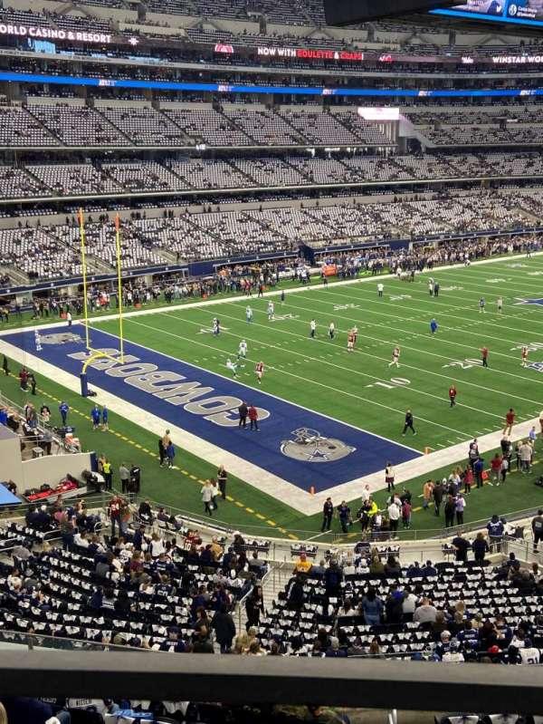 AT&T Stadium, vak: 343, rij: 1, stoel: 16