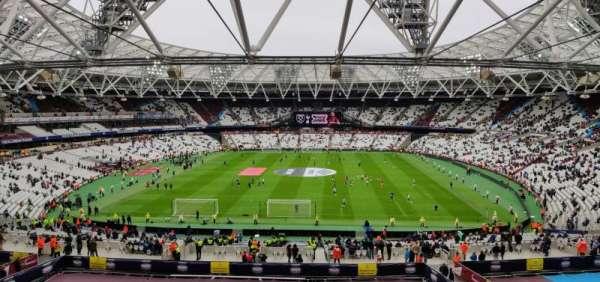 London Stadium, vak: 223, rij: 53, stoel: 250