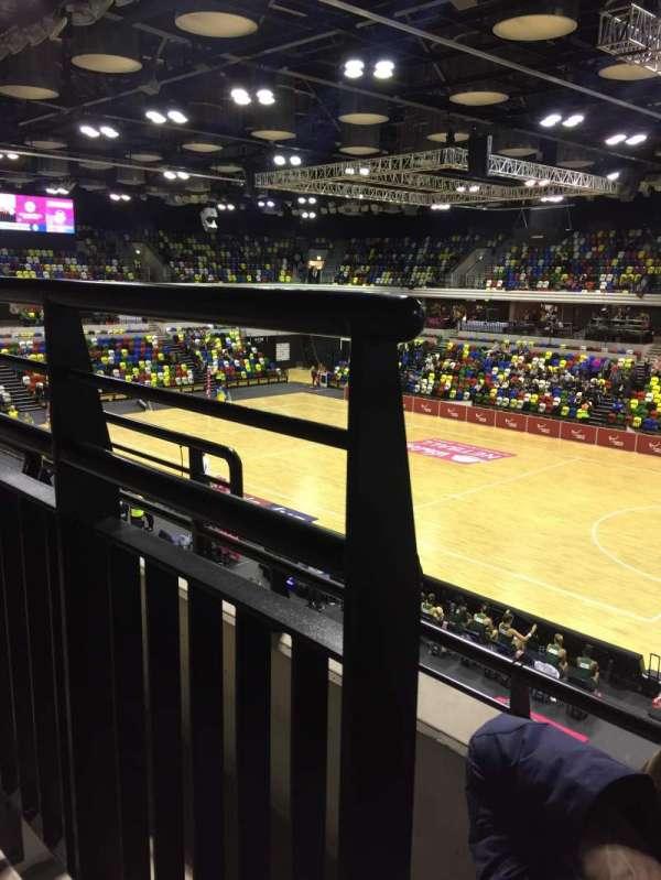 Copper Box Arena, vak: 210, rij: 12, stoel: 38