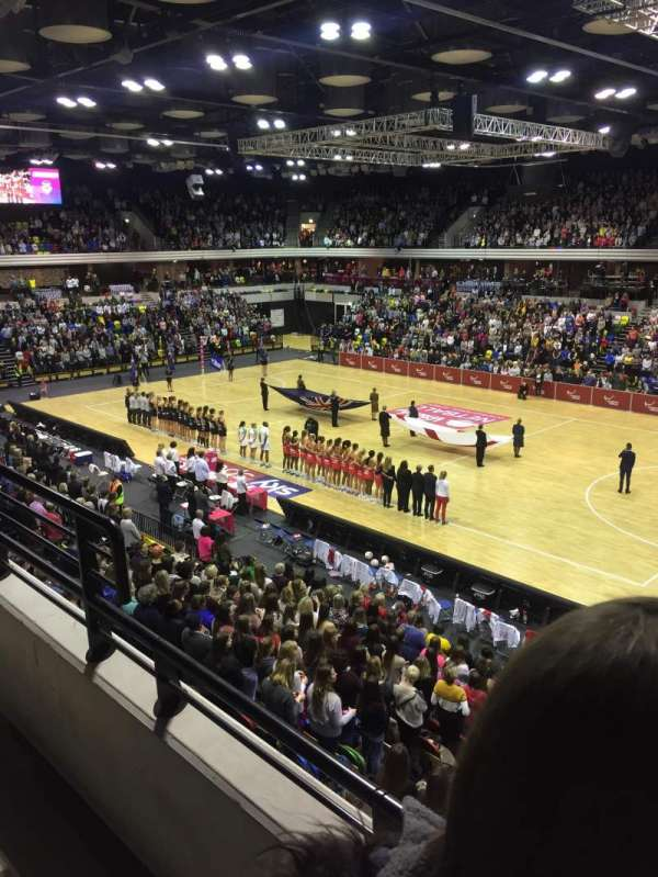 Copper Box Arena, vak: 210, rij: 12, stoel: 37
