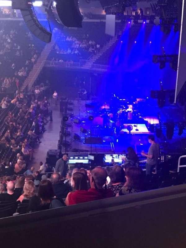 Infinite Energy Arena, vak: 108, rij: AA, stoel: 16