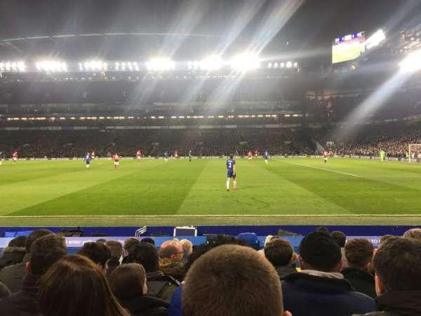 Stamford Bridge, vak: East Lower 6, rij: L, stoel: 152