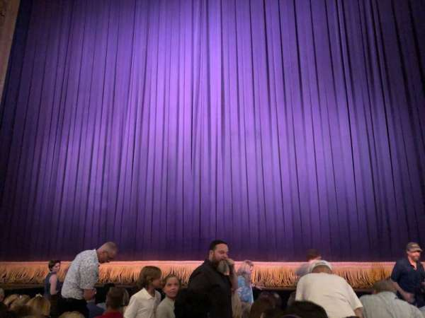 Lyceum Theatre (Broadway), vak: Center Orchestra, rij: G, stoel: 103