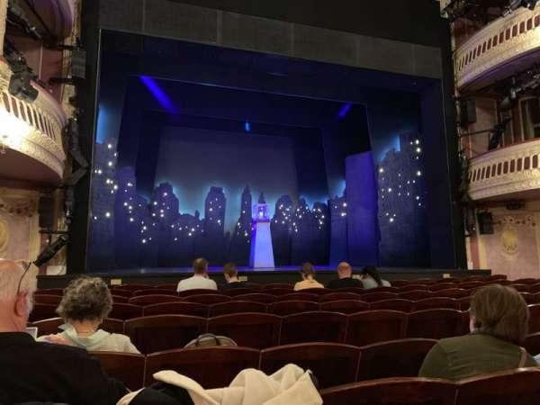 Criterion Theatre, vak: Stalls, rij: J, stoel: 17