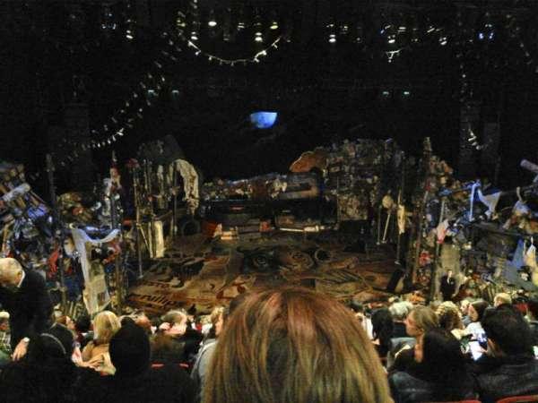 Neil Simon Theatre, vak: FMEZZ, rij: J, stoel: 107