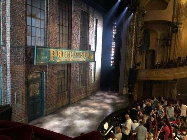 Al Hirschfeld Theatre, vak: LEFT BOX, rij: C, stoel: 10
