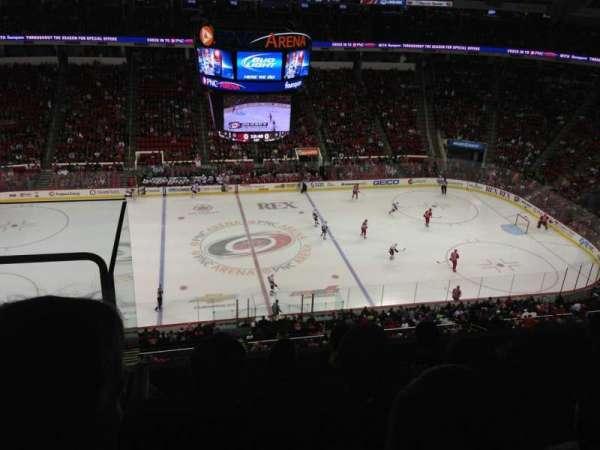 PNC Arena, vak: 324, rij: E, stoel: 24