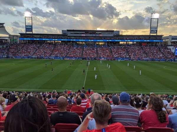 Toyota Stadium, vak: 127, rij: 23, stoel: 15