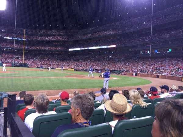 Busch Stadium, vak: 155D, rij: G, stoel: 1