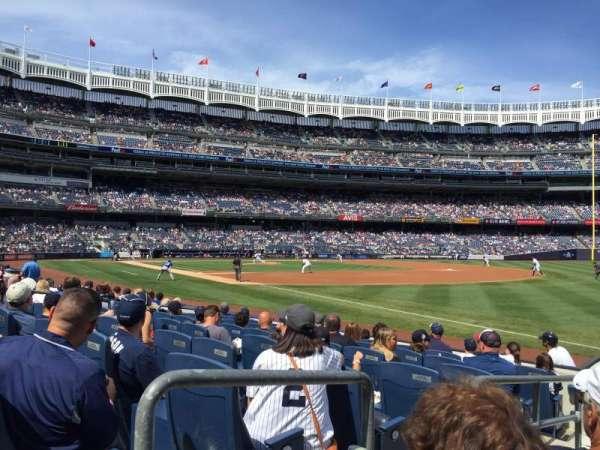 Yankee Stadium, vak: 011, rij: 7, stoel: 9