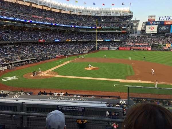Yankee Stadium, vak: 216, rij: 3, stoel: 1