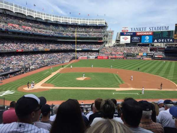 Yankee Stadium, vak: 216, rij: 7, stoel: 15