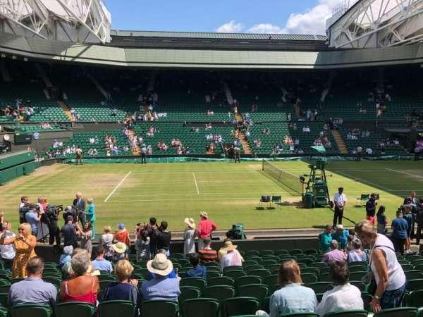 Wimbledon, Centre Court, vak: 204, rij: A, stoel: 87