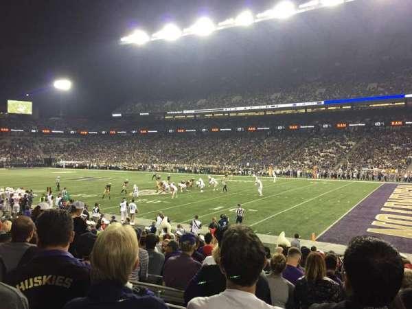 Husky Stadium, vak: 102, rij: 13, stoel: 15