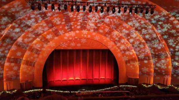 Radio City Music Hall, vak: 3rd MEZZANINE 5, rij: C, stoel: 501