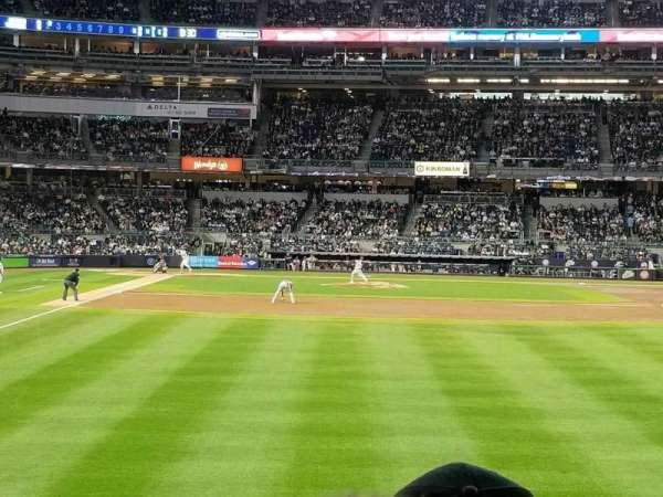 Yankee Stadium, vak: 106, rij: 7, stoel: 1