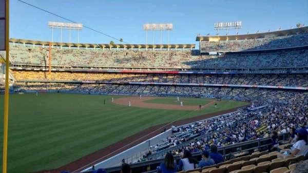 Dodger Stadium, vak: 161LG, rij: G, stoel: 16
