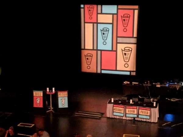 Riverside Theater (Milwaukee), vak: 2RC, rij: E, stoel: 8