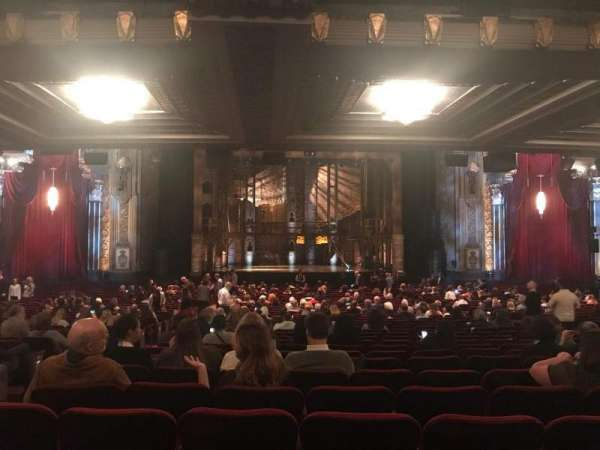 Hollywood Pantages Theatre, vak: Orchestra C, rij: VV, stoel: 111