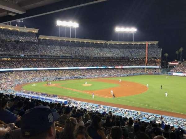 Dodger Stadium, vak: 150LG, rij: P, stoel: 5