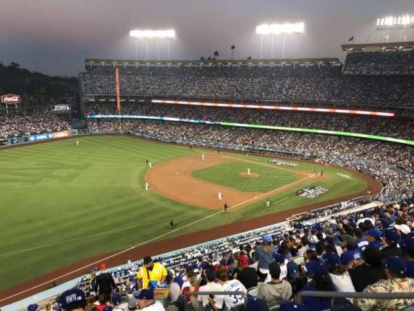 Dodger Stadium, vak: 39RS, rij: R, stoel: 5