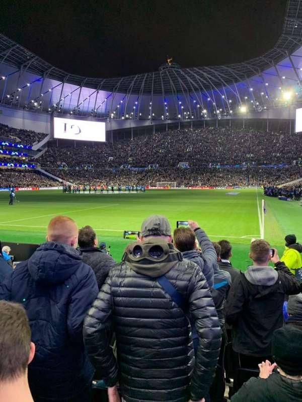Tottenham Hotspur Stadium, vak: 110, rij: 7, stoel: 300