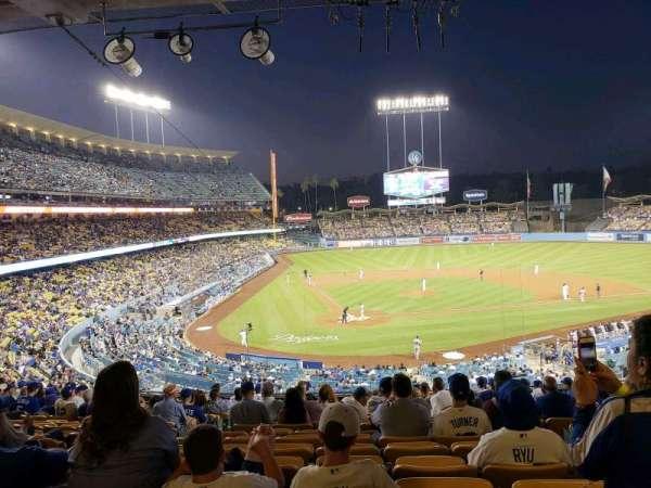 Dodger Stadium, vak: 116LG, rij: R, stoel: 6