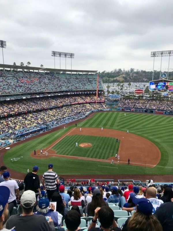 Dodger Stadium, vak: 20RS, rij: S, stoel: 2
