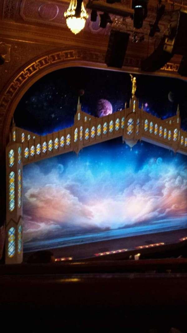 Eugene O'Neill Theatre, vak: Left Side Mezzanine, rij: E, stoel: 3