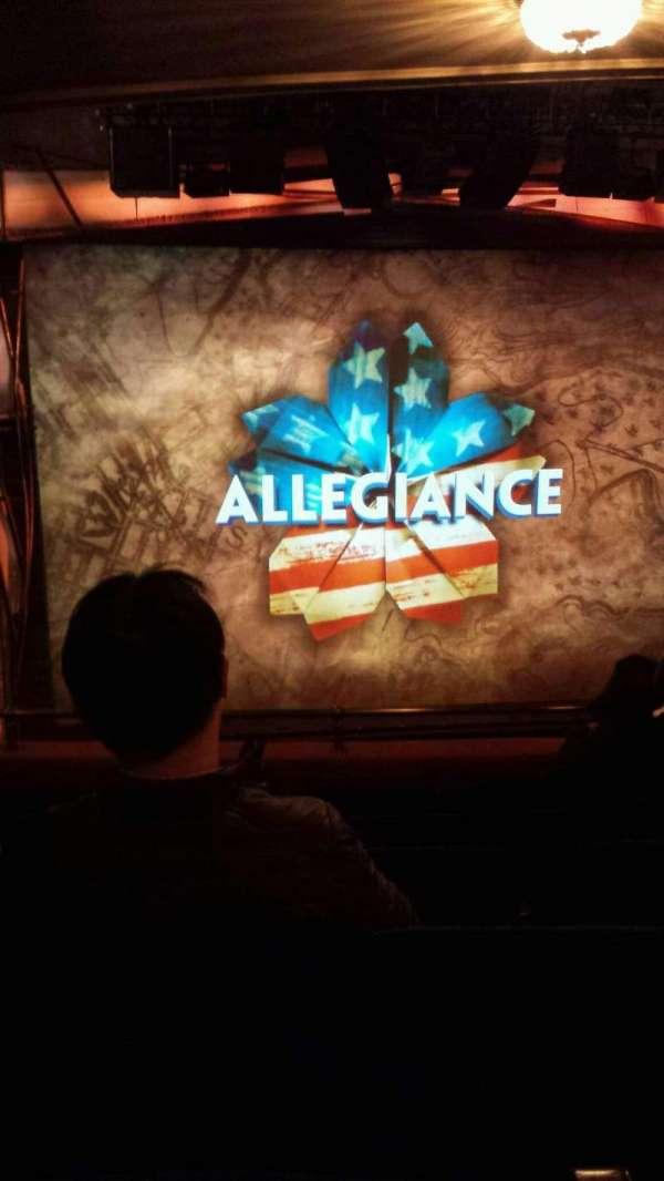 Longacre Theatre, vak: Center Mezzanine, rij: F, stoel: 113