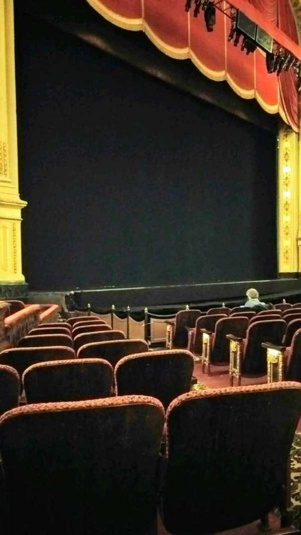 Boston Opera House, vak: Orch Lft, rij: I, stoel: 35