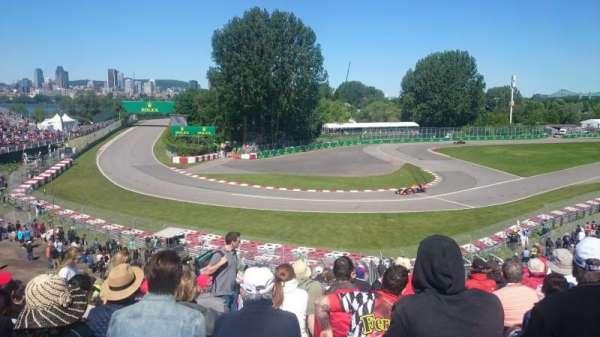 Circuit Gilles Villeneuve, vak: Silver 12, rij: O, stoel: 14