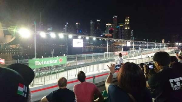 Singapore Street Circuit, vak: Bay Grandstand - Dark Green, rij: 13, stoel: 13