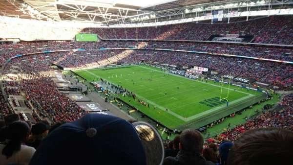 Wembley Stadium, vak: 504, rij: 17, stoel: 95