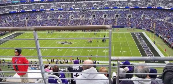 M&T Bank Stadium, vak: 551, rij: 5, stoel: 15