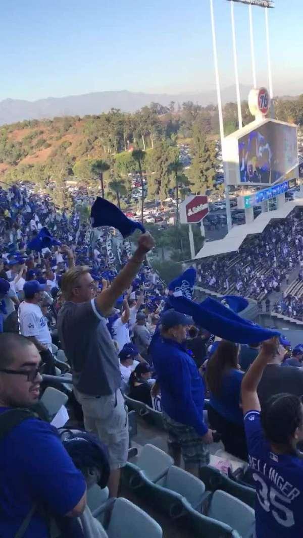 Dodger Stadium, vak: 45RS, rij: AA, stoel: 3