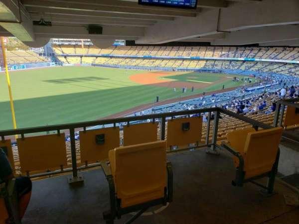 Dodger Stadium, vak: 161LG, rij: W, stoel: 2