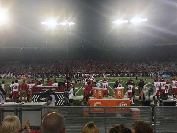 Arizona Stadium, vak: 30, rij: 11, stoel: 26