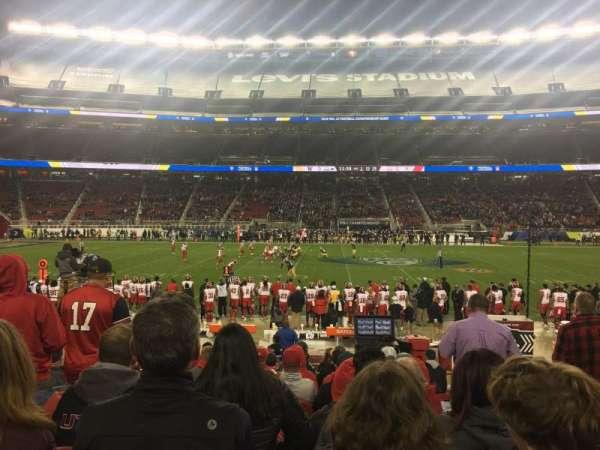 Levi's Stadium, vak: C139, rij: 12, stoel: 3