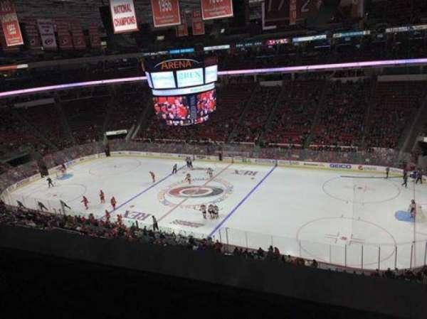 PNC Arena, vak: 302, rij: A, stoel: 12